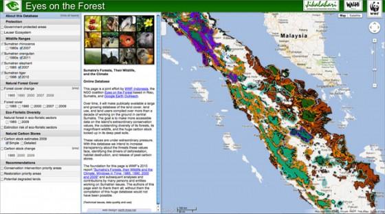 WWF Google Map