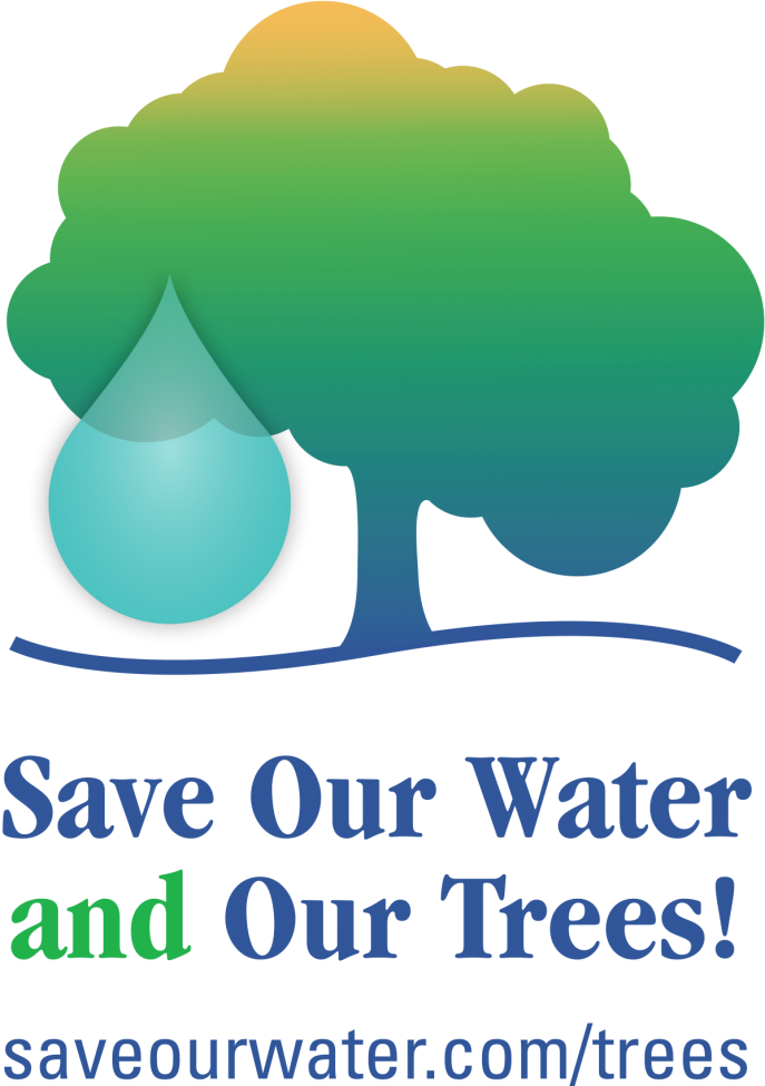 Save Our Water and Our Trees! Visit saveourwater.com/trees