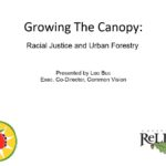 Growing the Canopy:Racial Justice and Urban Forestry.