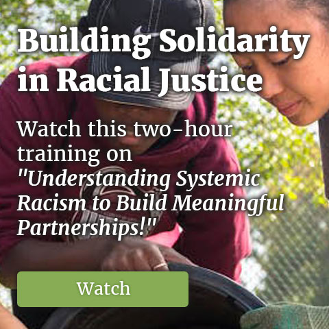 Building Solidarity in Racial Justice