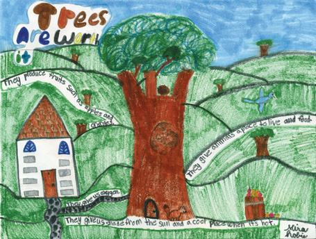 2011 Arbor Week 3rd grade poster contest winner